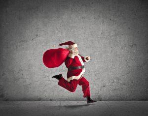 Der Nikolaus kommt nach Brinkum