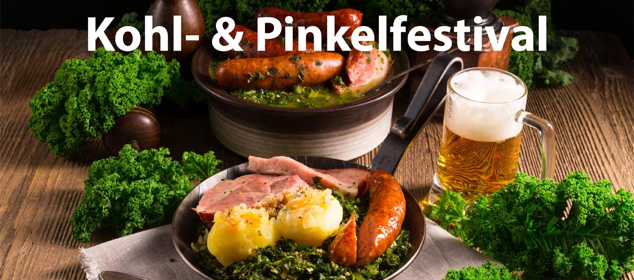 Kohl- und Pinkelfestival: Abbildung Kohlteller mit Bier