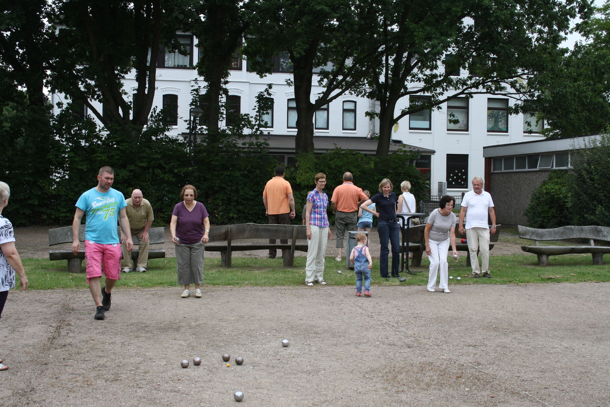 Traditionelles Boule-Turnier