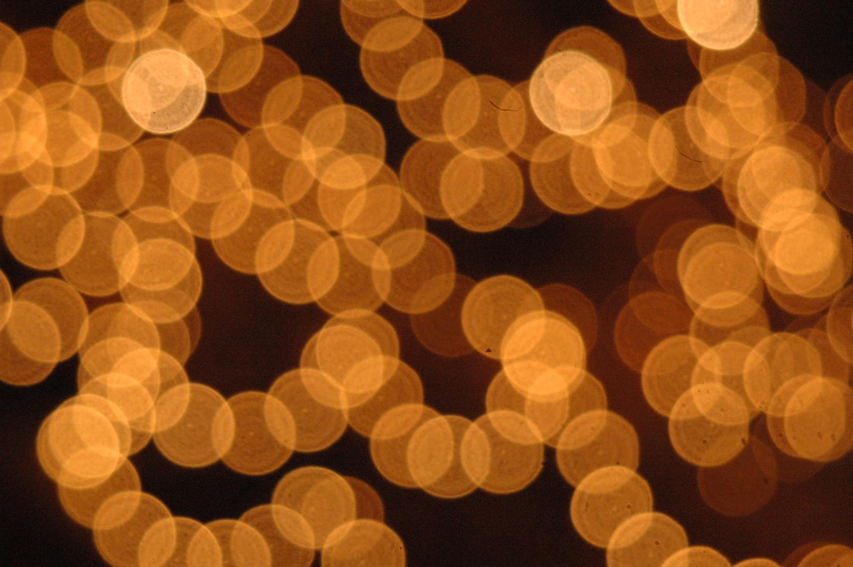 Weihnachtsbeleuchtung instand gesetzt